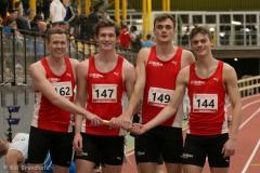 Kai Sparenberg, Lukas Genenger, Justus Hilling und  Jakob Bruns 4x200m Männer