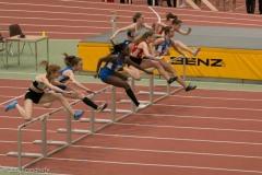 Fiona Wildemann und Liv Patterson 60m Hürden-Finale